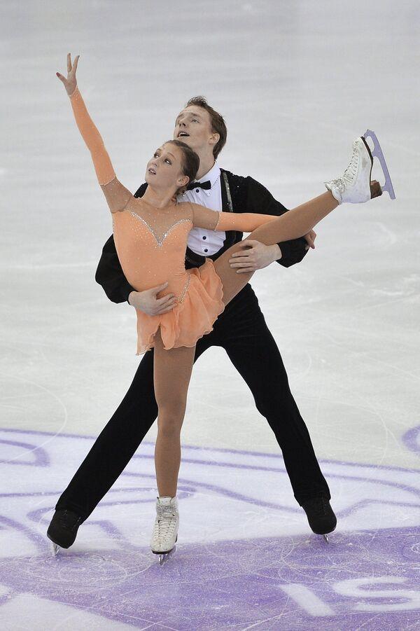 Амина Атаханова и Илья Спиридонов