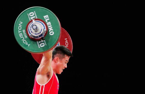 Олимпийский чемпион Ким Ын Гук из КНДР
