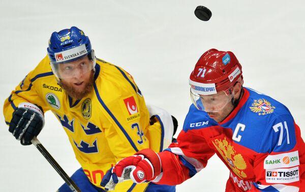 Юнас Юнланд (слева) и Илья Ковальчук
