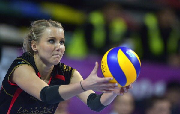 Волейболистка сборной Германии Марен Апитц