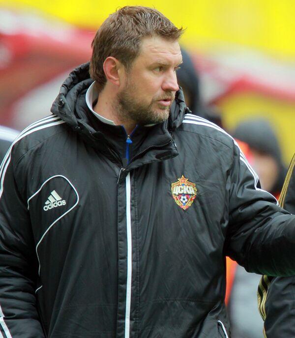 Тренер Сергей Шустиков