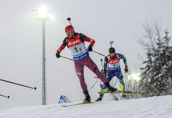 Евгений Гараничев и Мартен Фуркад (слева направо)
