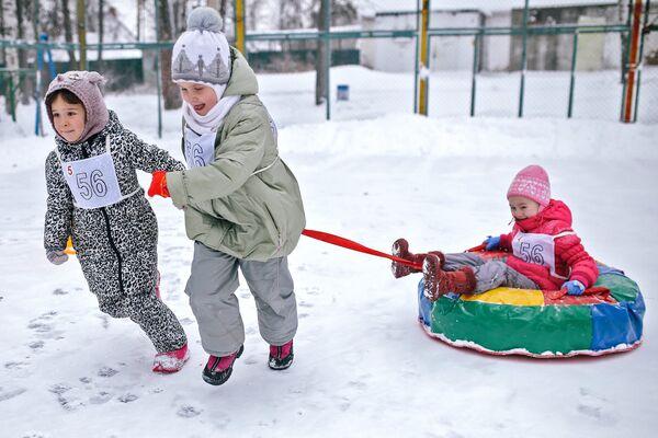 В Иванове празднуют Всероссийский День снега