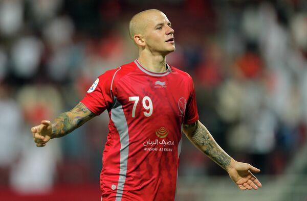 Полузащитник сборной Словакии и катарской Лехвии Владимир Вайсс