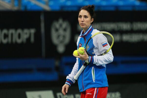 Капитан женской сборной команды России по теннису Анастасия Мыскина