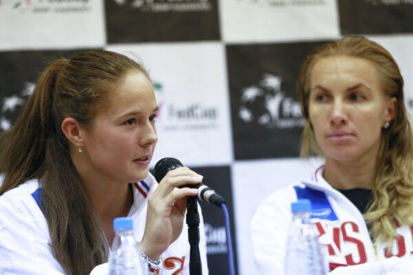 Дарья Касаткина (слева) и Светлана Кузнецова