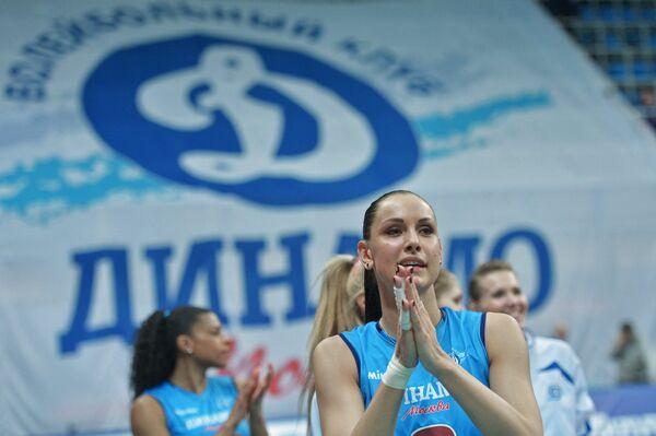 Волейболисткf московского Динамо Наталия Гончарова