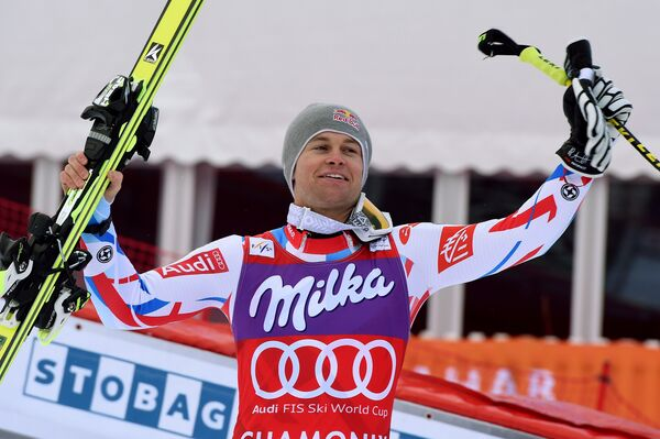 Французский горнолыжник Алексис Пентюро
