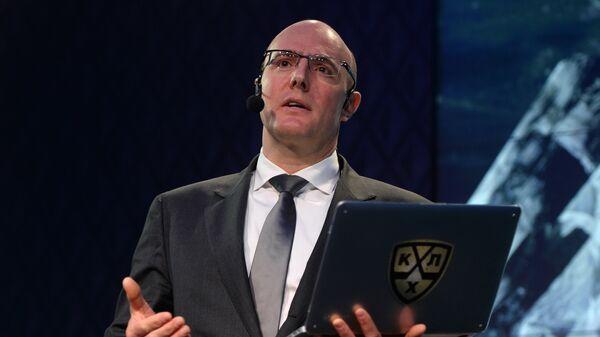 Президент Континентальной хоккейной лиги (КХЛ) Дмитрий Чернышенко