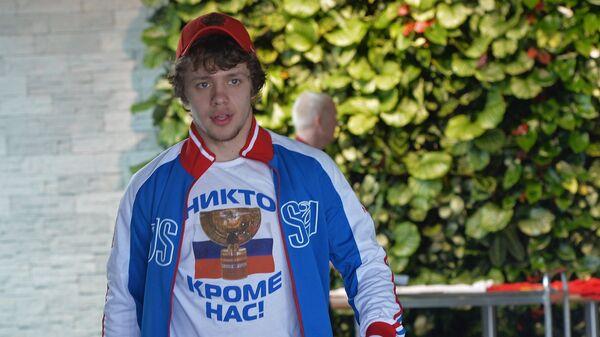 Форвард сборной России по хоккею Артемий Панарин