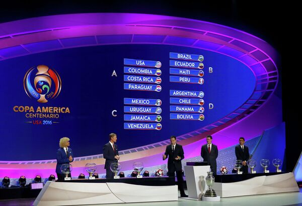 Жеребьевка Кубка Америки-2016
