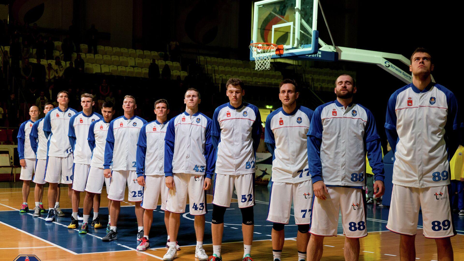 Баскетболисты Пармы - РИА Новости, 1920, 14.09.2021