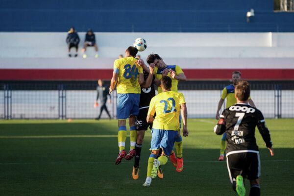 Игровой момент матча Ростов - Русенборг