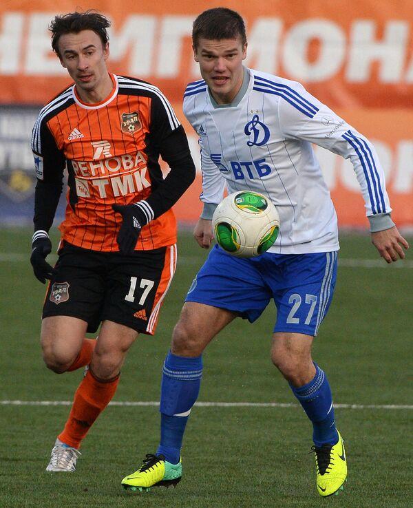 Андрей Горбанец (слева) и Игорь Денисов