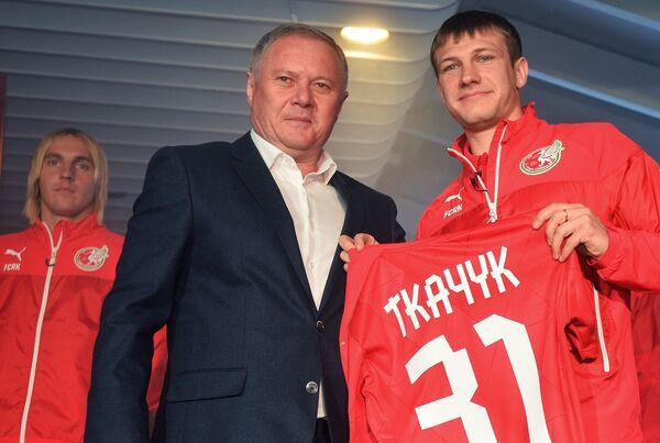Денис Ткачук (справа) и Ильгиз Фахреев