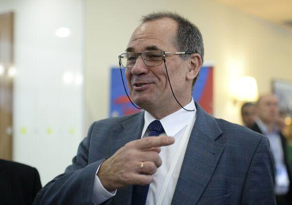 Председатель судейского комитета Российского футбольного союза Николай Левников
