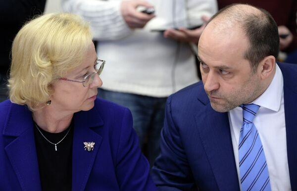 Дмитрий Свищев и Наталья Паршикова