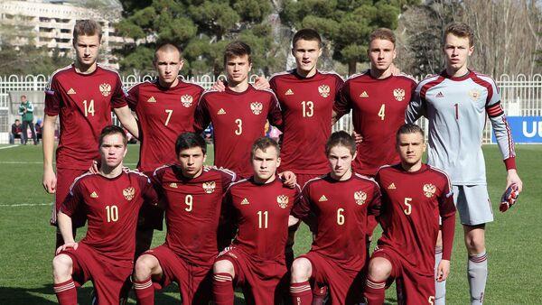 Игроки юношеской сборной России по футболу (игроки не старше 1999 года рождения)