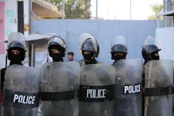 Сотрудники иракской полиции