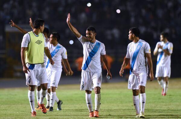 Футболисты сборной Гватемалы