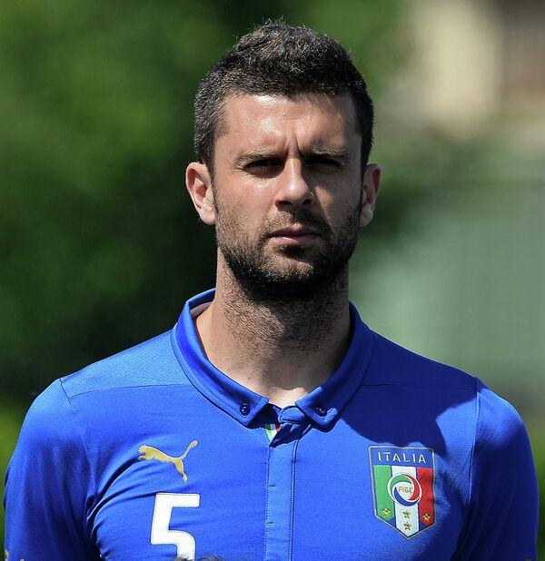 Полузащитник сборной Италии по футболу и ПСЖ Тиагу Мотта