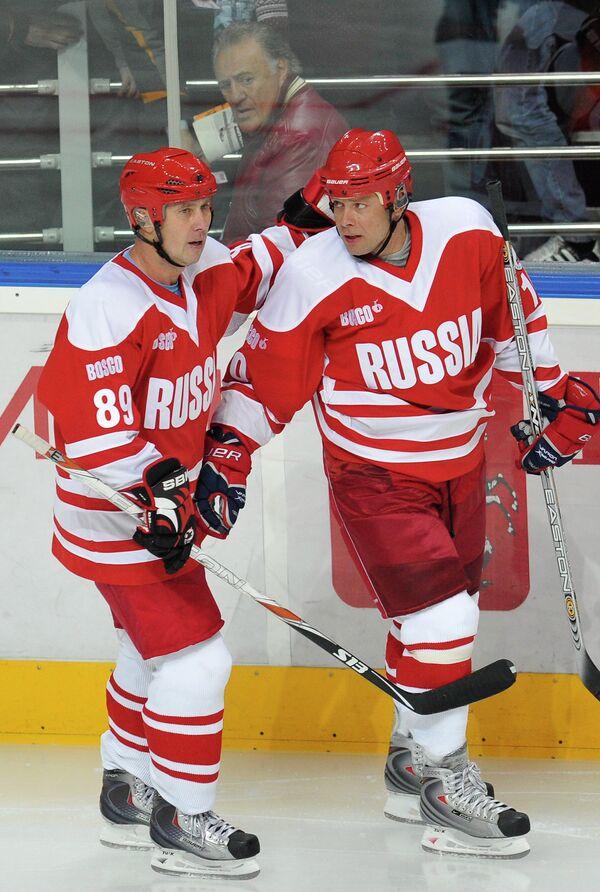 Александр Могильный и Павел Буре (слева направо)