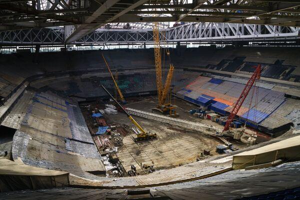 Визит FIFA и Оргкомитета Россия-2018 на стадион Зенит-Арена