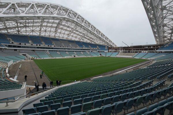 Реконструкция стадиона Фишт в Сочи к чемпионату мира по футболу 2018 года