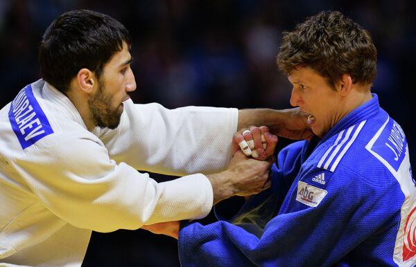 Хасан Халмурзаев (слева) и Якуб Кубенец