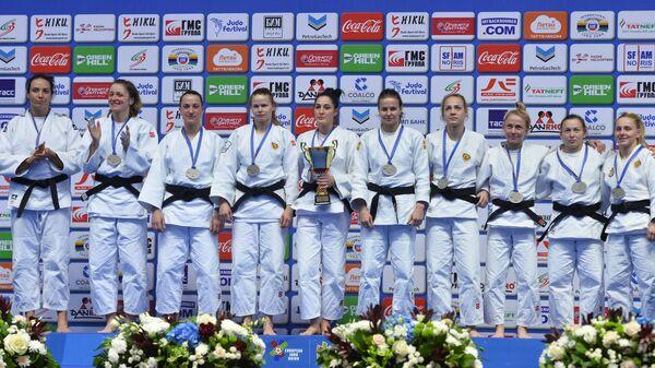 Дзюдоистки сборной России