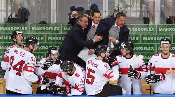 Хоккеисты и тренеры сборной Швейцарии
