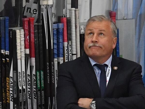 Главный тренер сборной Дании Янне Карлссон