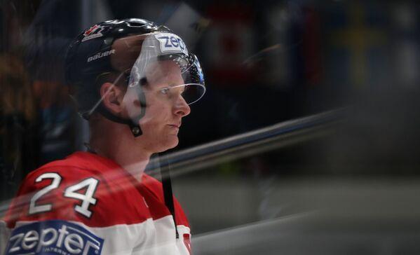 Нападающий сборной Канады Кори Перри