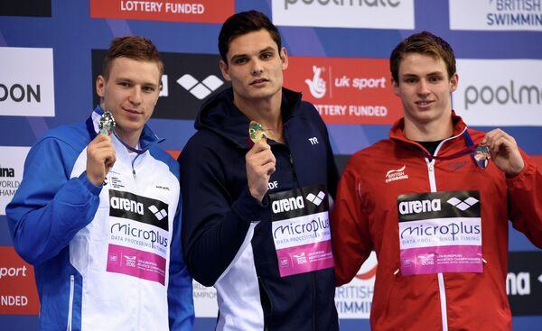 Андрей Говоров (Украина), Флоран Маноду (Франция) и Бенжамин Прауд (Великобритания)