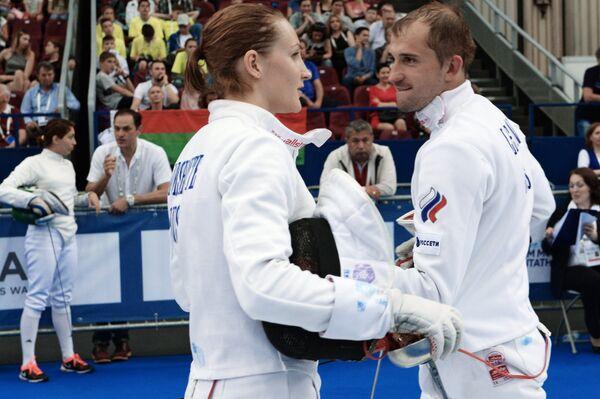Александр Лесун и Доната Римшайте