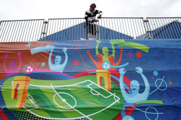 Подготовка к Евро-2016 в Марселе