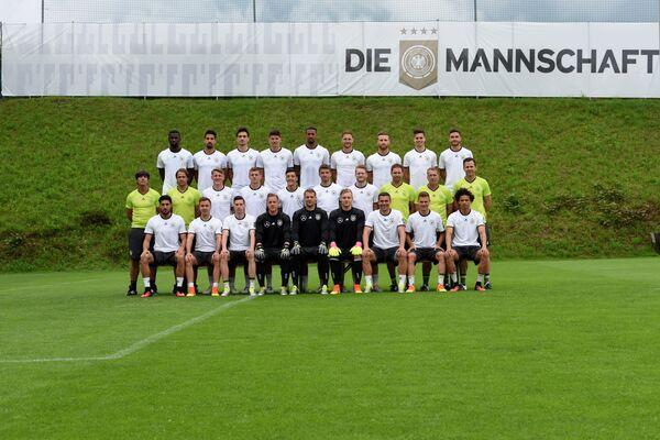 Фотографирование сборной Германии по футболу в преддверии Евро-2016