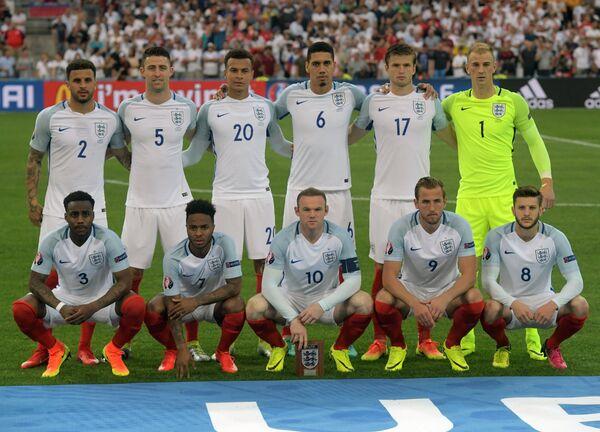 Фото английских футболистов