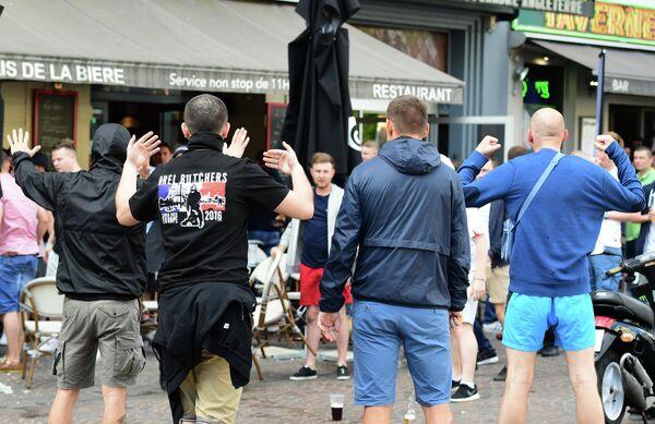 Столкновения фанатов в Лилле