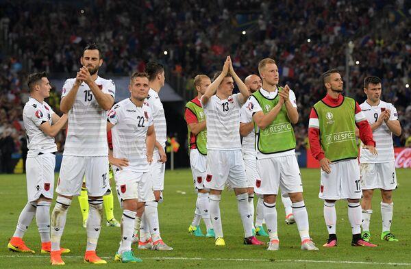 Футболисты сборной Албании