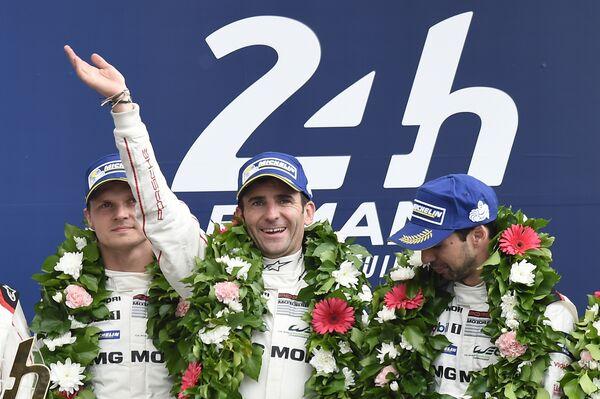 Экипаж команды Porsche