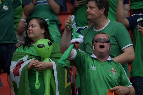 Болельщики сборной Северной Ирландии