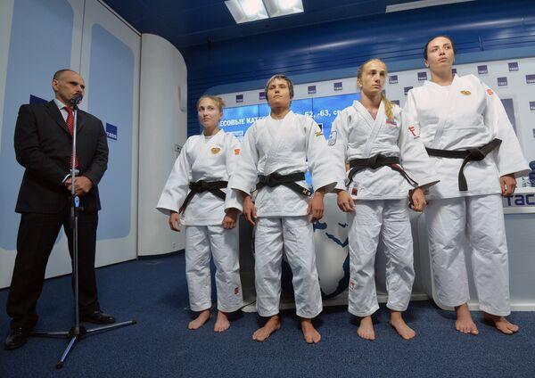 Презентация состава сборной России по дзюдо на Олимпийских играх