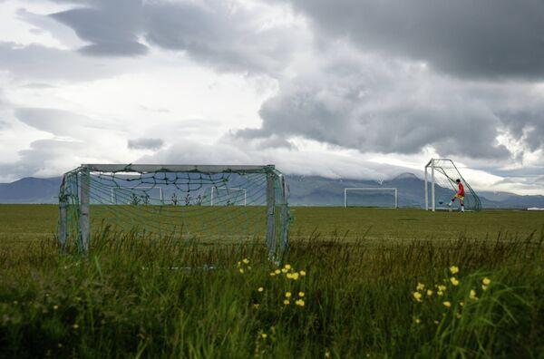 Поле футбольной школы клуба Гротта