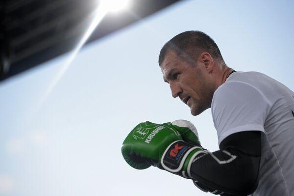 Боксер Сергей Ковалёв