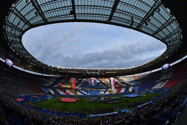 Церемония закрытия чемпионата Европы по футболу - 2016