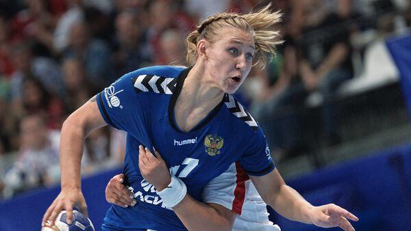 Игрок сборной России Ярослава Фролова