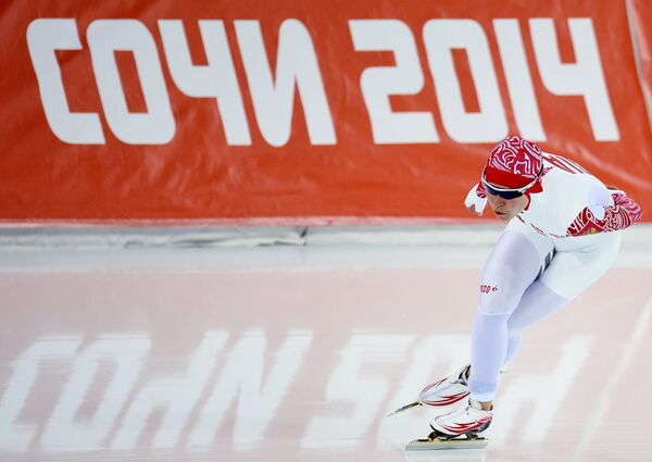 Ольга Граф на XXII зимних Олимпийских играх в Сочи