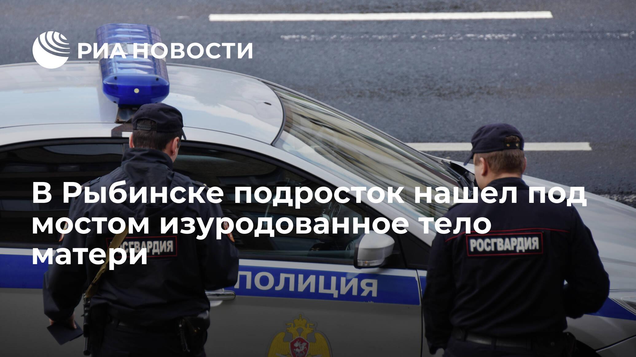 В Рыбинске подросток нашел под мостом изуродованное тело матери